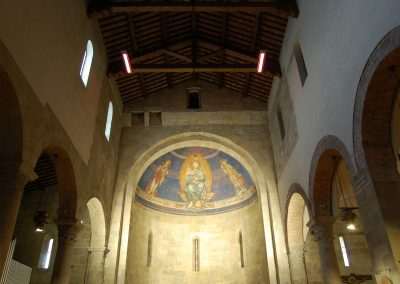 FI Borgo San Lorenzo Pieve San Lorenzo Abside